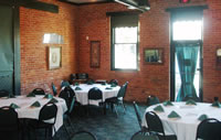 Banquet room for meetings