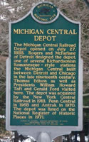 Historical Marker Battle Creek